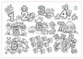 ЯиГрушка Коврик-раскраска Цифры (большой)