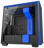 Компьютерный корпус NZXT H700i Black/blue