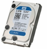 Жесткий диск Western Digital WD Blue Desktop 2 TB (WD20EZRZ)