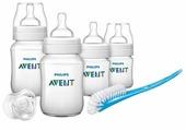 Philips AVENT Набор для кормления новорождённых Classic+ SCD371/00 (6 предметов) с рождения
