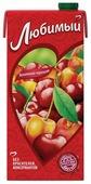 Напиток сокосодержащий Любимый Яблоко-Вишня-Черешня с крышкой, без сахара