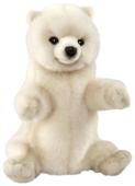 Hansa Кукла на руку Белый медведь (7158)