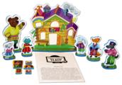 Десятое королевство Театр настольный кукольный Теремок (01375)