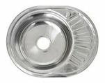 Врезная кухонная мойка Saniteco WY-5745 57х45см нержавеющая сталь