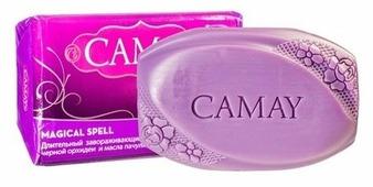 Мыло кусковое Camay Magique Spell с ароматом черной орхидеи и масла пачули