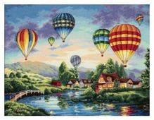 Dimensions Набор для вышивания крестиком Balloon Glow 41 x 30 см (35213)