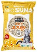 Наполнитель NeoSuna Комкующийся на основе соевых бобов (6 л)
