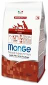 Корм для собак Monge Speciality line для здоровья кожи и шерсти, для здоровья костей и суставов, ягненок с рисом, с картофелем