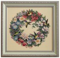 Dimensions Набор для вышивания Hummingbird Wreath (Венок с колибри) 37 х 36 см (35132)