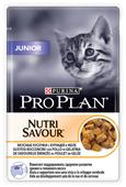 Корм для котят Purina Pro Plan Nutrisavour беззерновой, с курицей 85 г (кусочки в желе)