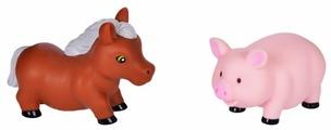 Набор для ванной Жирафики Лошадка и свинка (681267)