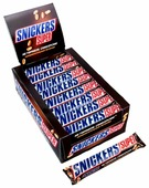 Батончик Snickers Super, 95 г, коробка