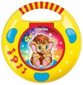 """Интерактивная развивающая игрушка Азбукварик CD-плеер с огоньками """"Песенки и сказки"""""""