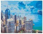 "Рыжий кот Картина по номерам ""Вид на Гонконг"" 40х50 см (PP067)"