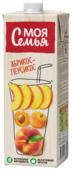 Напиток сокосодержащий Моя Семья Абрикос-Персикос