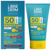 Librederm Bronzeada солнцезащитный крем для детей Omega 3-6-9 SPF 50