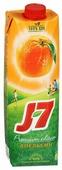 Сок J7 Апельсин, с крышкой, без сахара