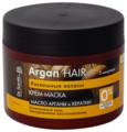 Dr. Sante Argan oil and keratin Крем-маска для волос Интенсивный уход трехуровневовое восстановление