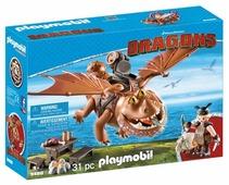 Набор с элементами конструктора Playmobil Dragons 9460 Рыбьенг и Сарделька