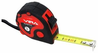 Рулетка Vira 100001 16 мм x 3 м