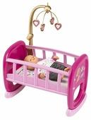 Smoby Колыбель для кукол с мобилем Baby Nurse (220328)