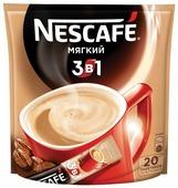 Растворимый кофе Nescafe 3 в 1 мягкий, в стиках