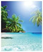 Штора для ванной Vanstore Райский остров (620-19) 180х180