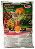 Грунт БИУД Цветочный палисад для клумб, цветников, газонов и крупномеров 10 л.