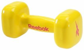 Гантель цельнолитая REEBOK RAWT-11053YL 3 кг