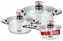 Набор посуды LARA LR02-104 Adagio 6 пр