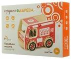Винтовой конструктор Мир деревянных игрушек Д430 Пожарная машина