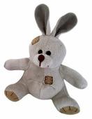 Мягкая игрушка Eatoy Зайчик коричневый 12 см