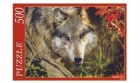 Пазл Рыжий кот Лесной волк (ГИ500-8278), 500 дет.