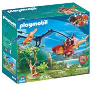 Набор с элементами конструктора Playmobil Dinos 9430 Вертолет для приключений с птеродактилем