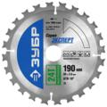 Пильный диск ЗУБР Эксперт 36901-190-30-24 190х30 мм