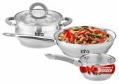 Набор посуды LARA LR02-110 Bell PROMO 4 пр