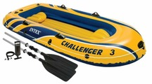 Гребная лодка Intex Challenger 3 Set (Intex-68370)