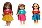 Интерактивная кукла Весна Анна 4, 42 см, В2810/о