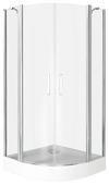 Душевой уголок BAS Pandora R 100х100 100см*100см