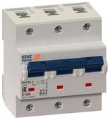 Автоматический выключатель КЭАЗ OptiDin ВМ125 3P (C) 10kA