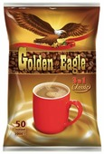 Растворимый кофе Golden Eagle 3 в 1 Classic, в пакетиках