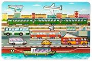 Рамка-вкладыш Нескучные игры Городской транспорт (8013), 11 дет.