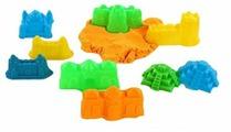 Кинетический песок Color Puppy с 9 формочками