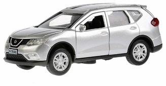 Легковой автомобиль ТЕХНОПАРК Nissan X-Trail (X-TRAIL-SL/BK/GD) 1:36 12 см