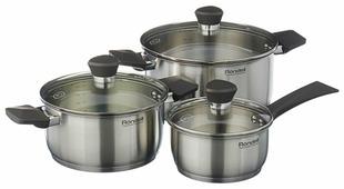 Набор посуды Rondell Strike RDS-820 6 пр.