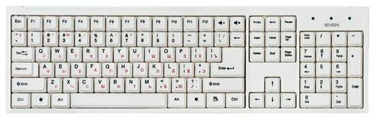 Клавиатура и мышь SVEN Standard 310 Combo White USB