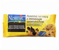 Галета Nordic из овса с темным шоколадом, 30 г