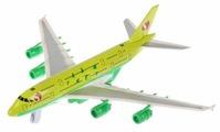 Самолет ТЕХНОПАРК S7 (91002S-R-GN) 17 см