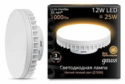 Лампа светодиодная gauss 131016112, GX70, GX70, 12Вт