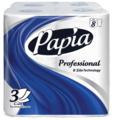 Туалетная бумага Papia Professional белая трехслойная